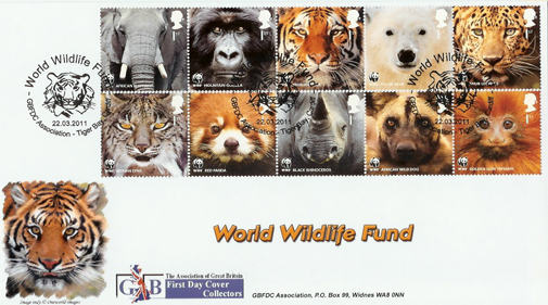 GBFDC WWF First Day Cover