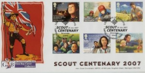 First Day Cover | Scouts 2007