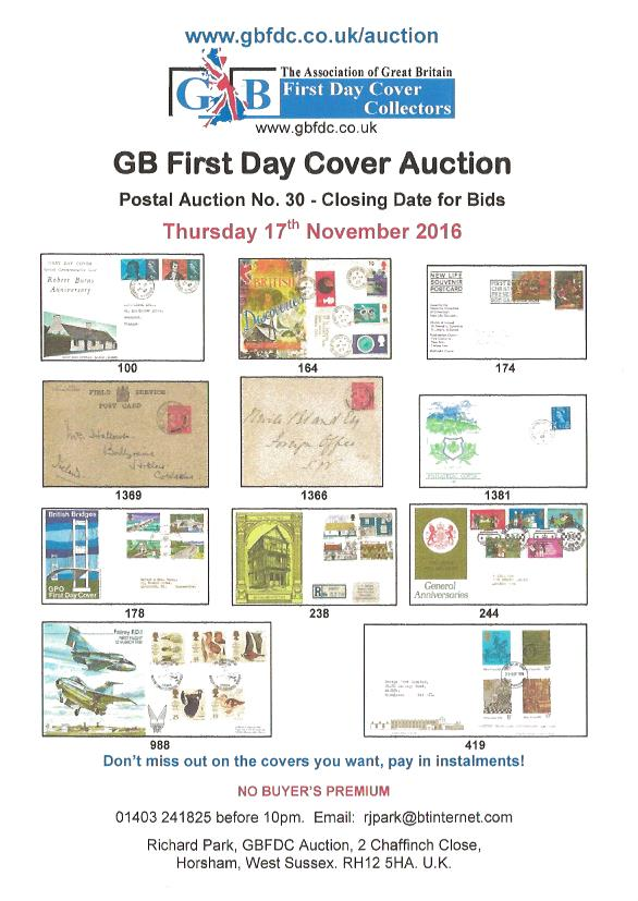 A30 auction front page