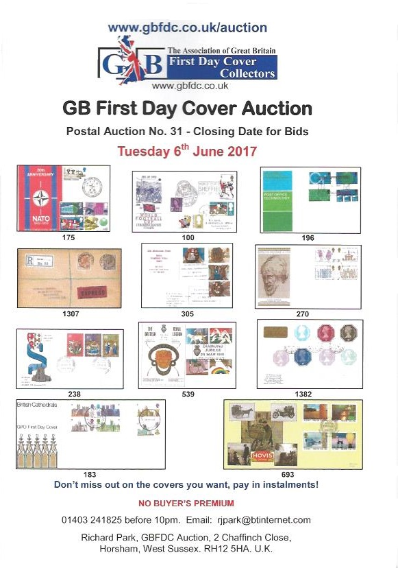 A31 auction front page