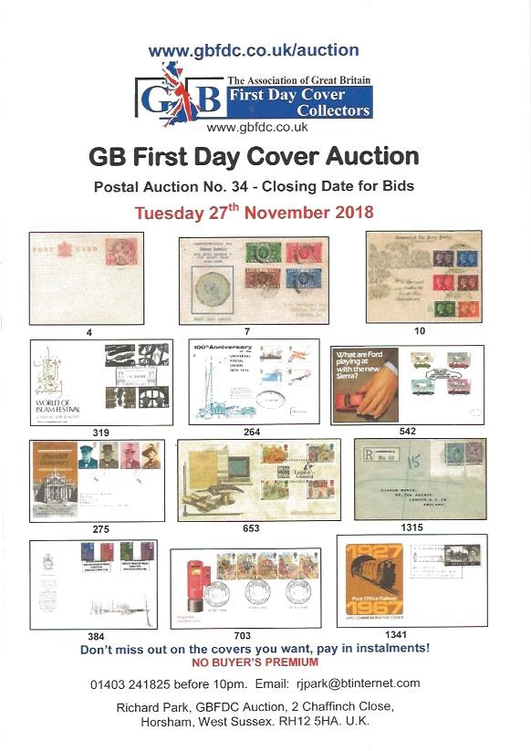 A34 auction front page