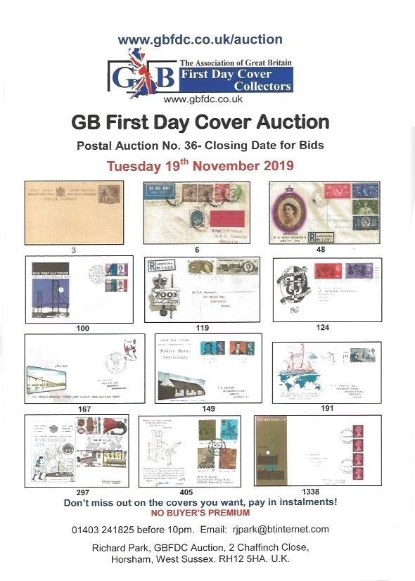 A36 auction front page